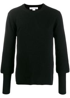 Comme des Garçons relaxed slim cuff sweater