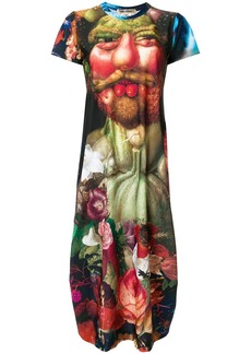Comme des Garçons Renaissance print T-shirt dress