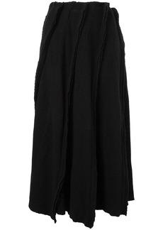 Comme des Garçons ribbed knit skirt