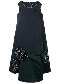 Comme des Garçons rose detail sack dress