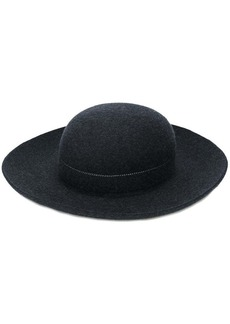 Comme des Garçons round felt hat