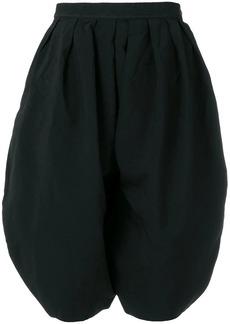Comme des Garçons round pleated shorts