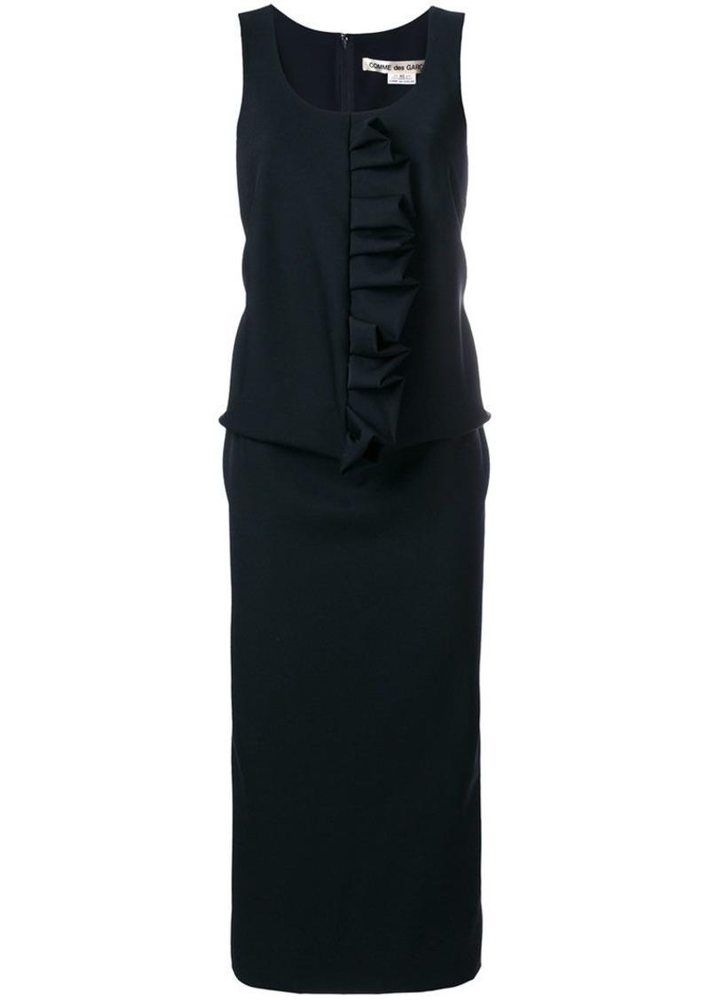 Comme des Garçons ruffle detail sleeveless dress