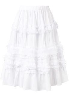Comme des Garçons ruffle layered skirt