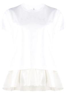 Comme des Garçons ruffle-trim short sleeve T-shirt