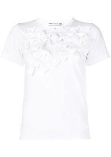 Comme des Garçons ruffles T-shirt