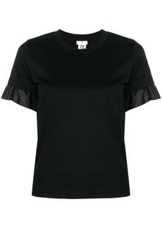 Comme des Garçons satin trim T-shirt