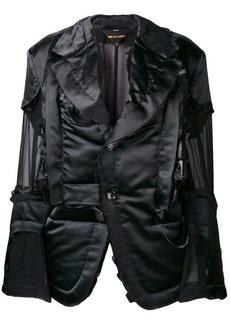 Comme des Garçons sheer detailed jacket