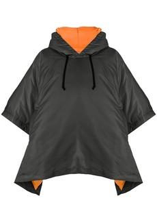 Comme des Garçons short-sleeve hooded jacket