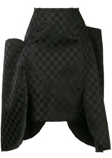 Comme des Garçons side flaps skirt