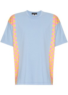 Comme des Garçons Side Panelled Checkered T-Shirt