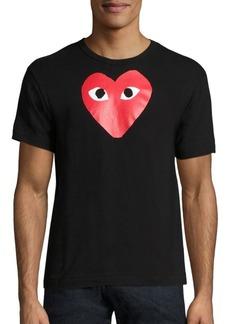 Comme des Garçons Signature Logo Graphic T-Shirt