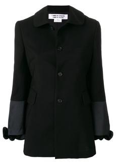 Comme des Garçons single breasted jacket