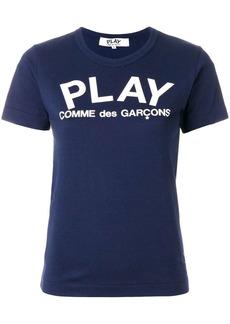 Comme des Garçons slim fit logo T-shirt