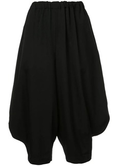 Comme des Garçons slouched cropped trousers