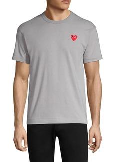 Comme des Garçons Small Heart Logo Tee