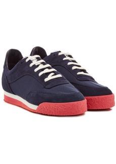 Comme des Garçons Spalwart Sneakers with Suede and Mesh