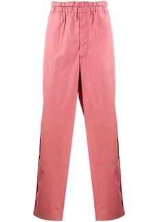 Comme des Garçons straight-leg cotton trousers