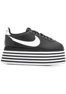 Comme des Garçons striped platform sneakers
