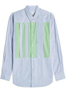 Comme des Garçons Stripes Cotton Shirt with Inserts