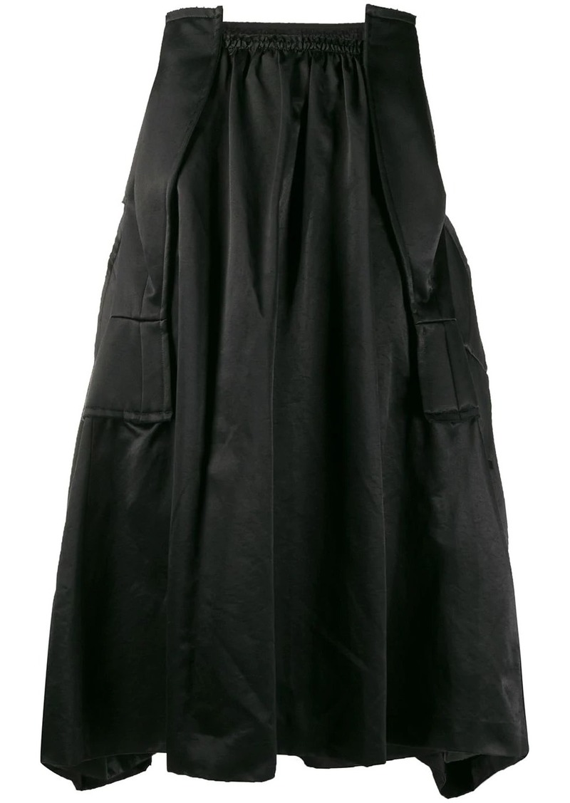 Comme des Garçons structured midi-skirt