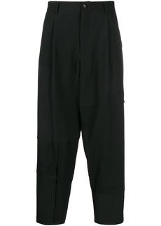 Comme des Garçons tailored crop trousers