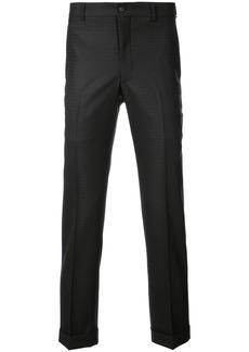 Comme des Garçons tailored jacquard trousers