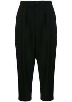 Comme des Garçons cropped tapered trousers