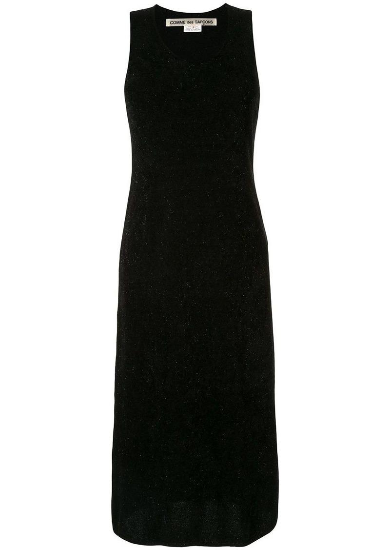 Comme des Garçons textured knit sleeveless dress