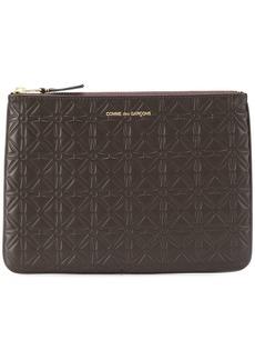 Comme des Garçons textured leather wallet