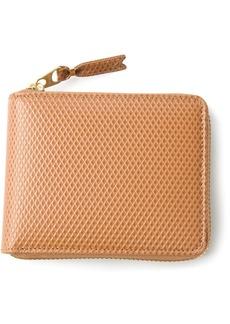 Comme des Garçons textured zip around wallet