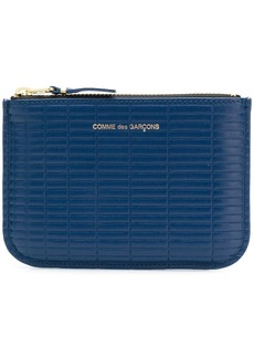 Comme des Garçons top zipped wallet