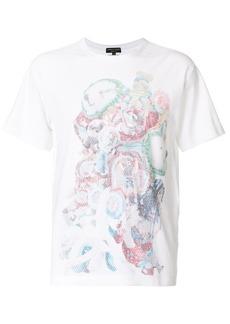 Comme des Garçons toy print perforated T-shirt
