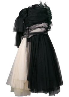 Comme des Garçons tulle asymmetric dress