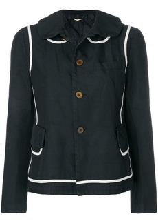 Comme des Garçons two-tone button jacket