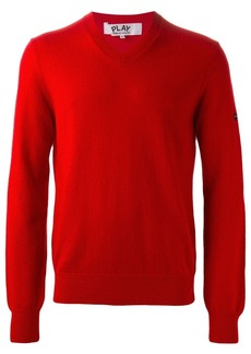 Comme des Garçons v-neck sweater