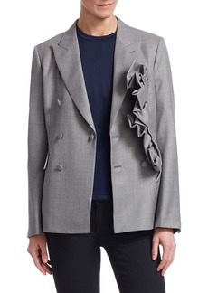 Comme des Garçons Wool Double Breasted Blazer