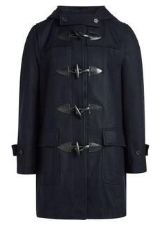 Comme des Garçons Wool Duffle Coat with Rabbit Ears