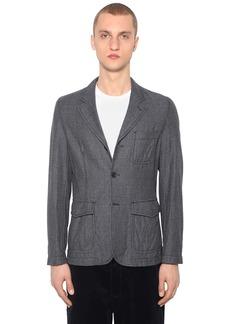 Comme des Garçons Wool Houndstooth Jacket