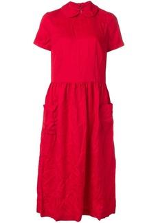 Comme des Garçons woven smock dress