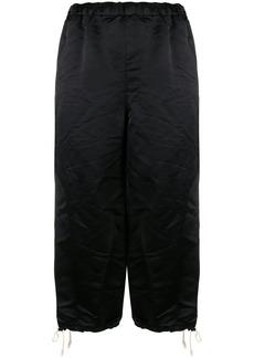 Comme des Garçons wrinkled knee-length shorts