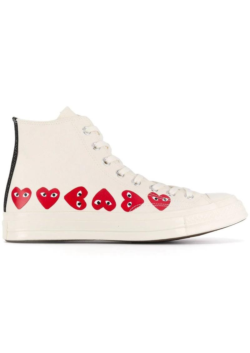 Comme des Garçons x Converse Chuck Taylor high-top sneakers