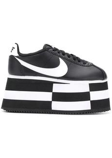 Comme des Garçons Comme des Garcons x Nike platform sneakers