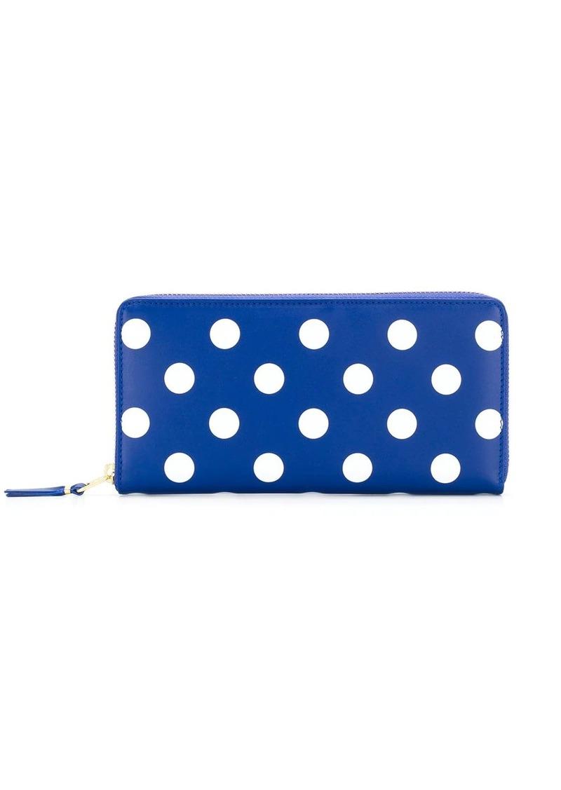 Comme des Garçons zip-around polka dot wallet