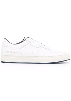 Common Projects contrast-trimmed leather sneakers