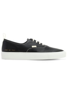 Common Projects Fore Hole In Leather Sneakers