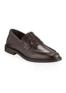 Common Projects Men's Calf Leather Penny Loafers