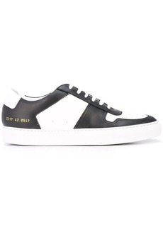 Common Projects two tone low top sneakers