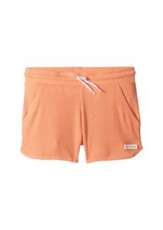 Converse 2X2 Drapey Rib Shorts (Big Kids)