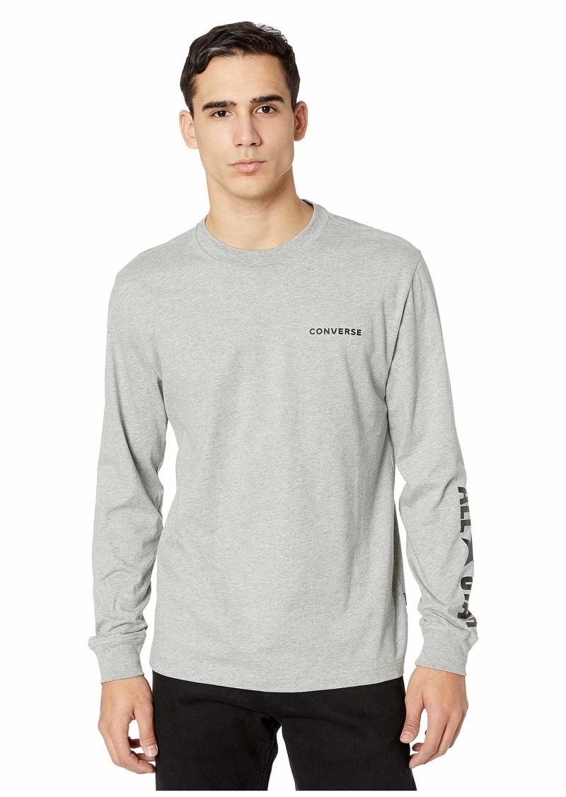 Converse All Star Long Sleeve Cotton T-Shirt